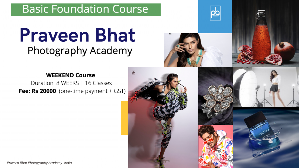photography course Fee
