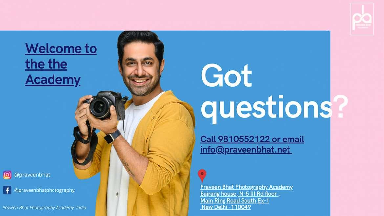 Photography Course Fee Delhi